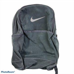 NWT NIKE Grey Mesh Backpack